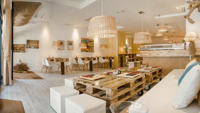 Vista sala - Art & Sushi - A Coruña, A Coruña