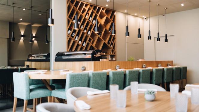 Vista do interior - Mood Restaurant & Sushi Bar, Porto