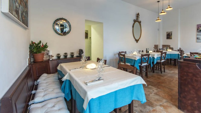 Vista sala - Nonna Elena, Rome