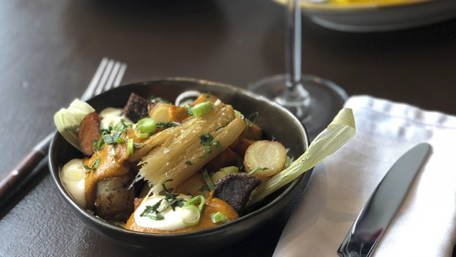 Sugerencia del chef - Lucuma & Camote, Barcelona