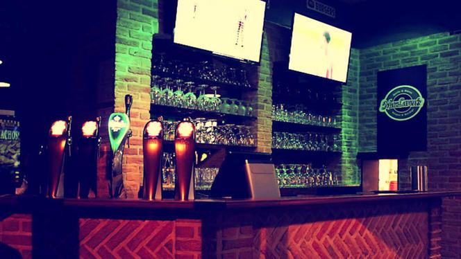 vue détail de l'intérieur / bar - MacLaren's, Lille