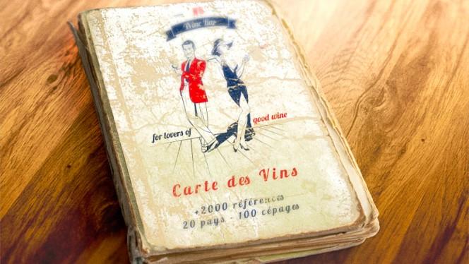 Carte des vins : 2300 références - N°5 WINE BAR : bar à vins & restaurant, Toulouse