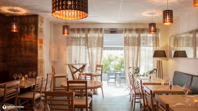Salle du restaurant - Le Gambetta, Aix-en-Provence