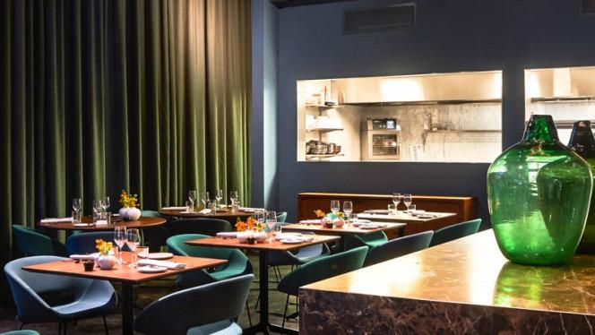 keukenzaal - Restaurant Fitzgerald, Rotterdam