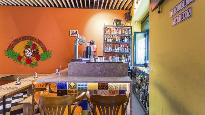 sala do restaurante - Taqueria Patron, Lisboa