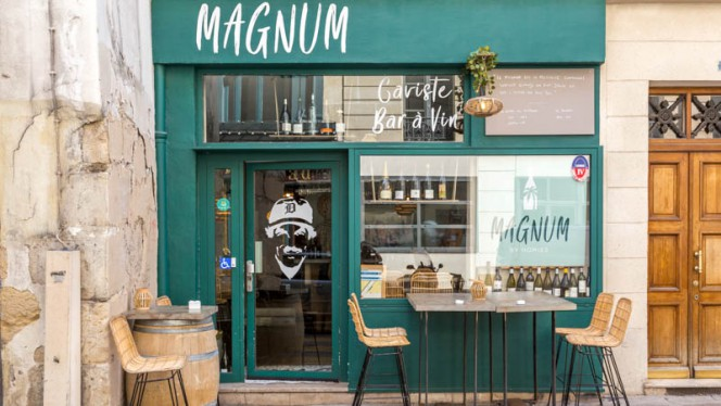 Vista sala - Magnum, Paris