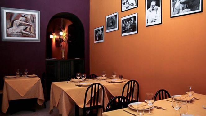 Particolare sala - Osteria Novecento, Turin