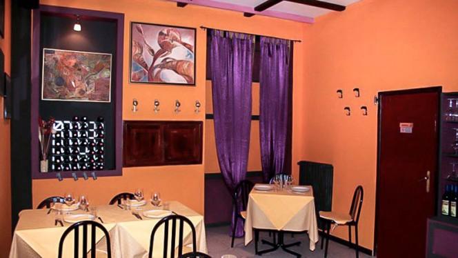Vista sala - Osteria Novecento, Turin