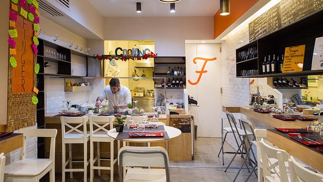 Vista sulla cucina - Finger, Rome