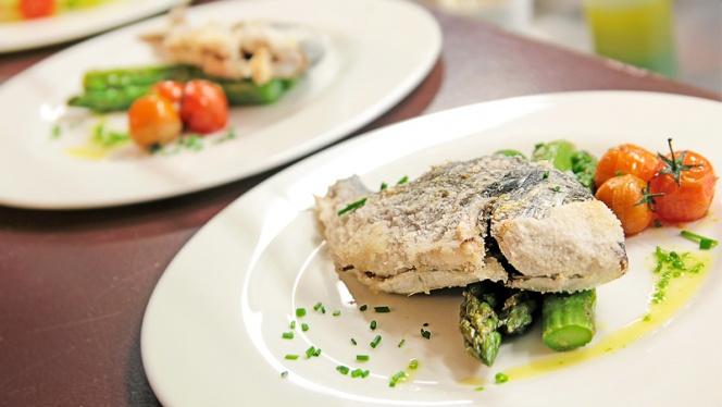 sugerencia pescado a la brasa - Brasería Cátedra, Barcelona
