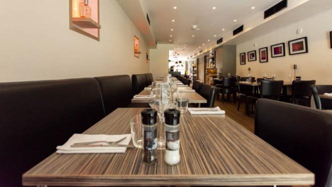 Het restaurant - Gusto Dei Signori, Amsterdam