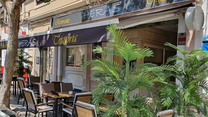 Terraza - Ristorante Trattoria Heras, Valencia