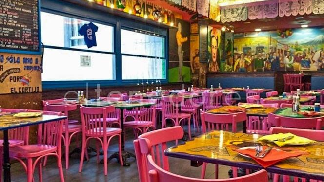 Sala del restaurante - La Mordida de Princesa, Madrid