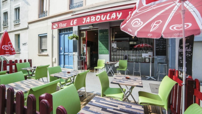 terrasse - Le Jaboulay, Lyon