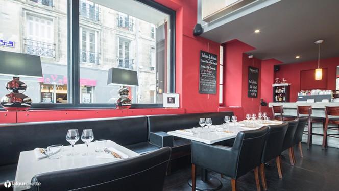 Vue de la salle - Le Café du Théâtre, Bordeaux