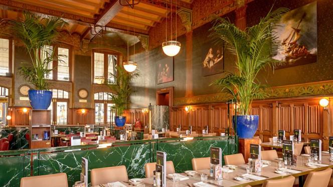 Het restaurant - Grand Café Restaurant 1e Klas, Amsterdam