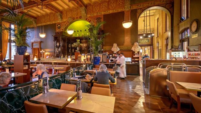 Restaurant - Grand Café-Restaurant 1e klas, Amsterdam