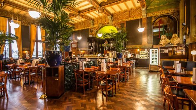 Restaurant uit 1885 (Cuypers) - Grand Café-Restaurant 1e klas, Amsterdam