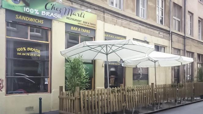 terrasse - Chez Marli 100% Brasil, Lyon