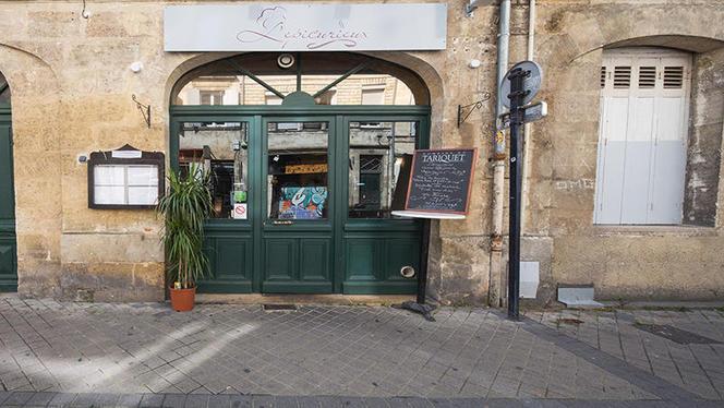 devanture - L'Épicurieux, Bordeaux