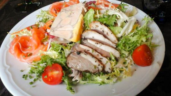 Salade gourmande - Le 1774 - Les Jambons de Marinette,