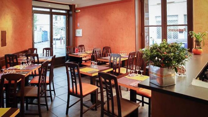 vue de la salle - La Cuisine de Lindouce, Lyon