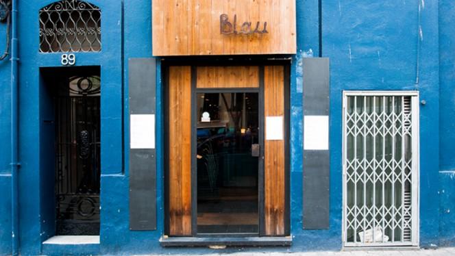 Fachada - Blau BCN by Marc Roca, Barcelona