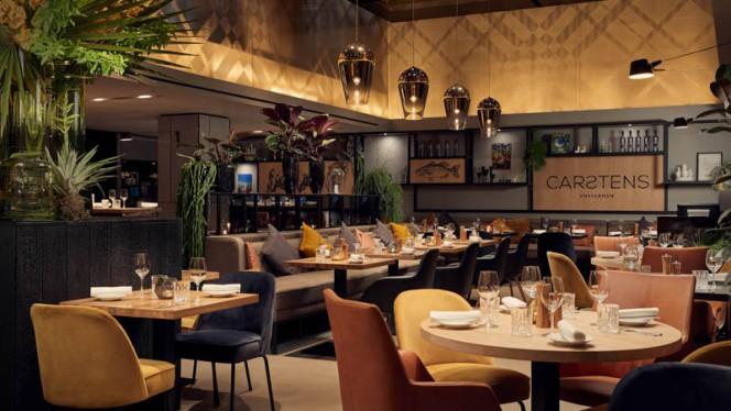 Het restaurant - Brasserie Carstens, Amsterdam