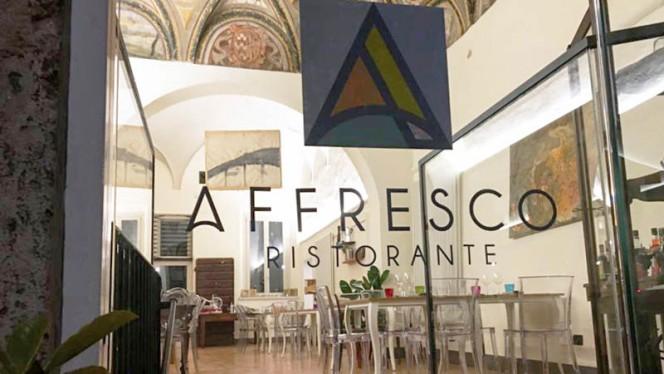 Entrata - Affresco, Mantova