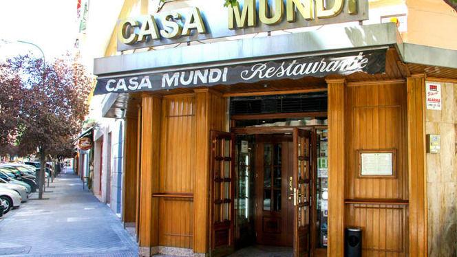 Fachada - Casa Mundi, Madrid