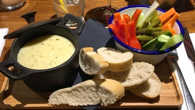 """""""La Chouffe"""" kaasfondue - Grand Café De Vrienden, Utrecht"""
