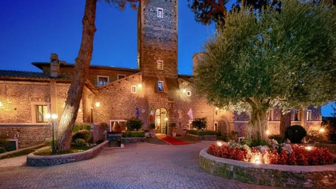 esterno - Castello della Castelluccia, Rome