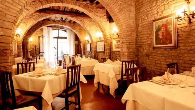 sala - Ristorante Il Pino, San Gimignano