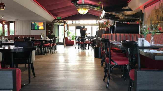 Vista sala - Restaurant 1001 nacht, Amsterdam