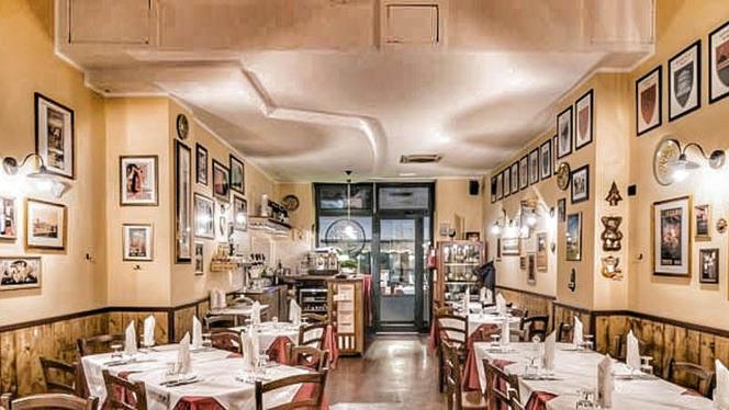 Vista sala - Osteria Angelino dal 1899, Milan
