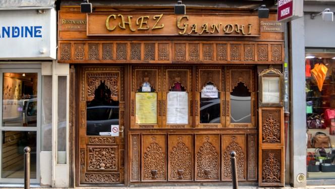 Devanture - Chez Gaandhi, Paris