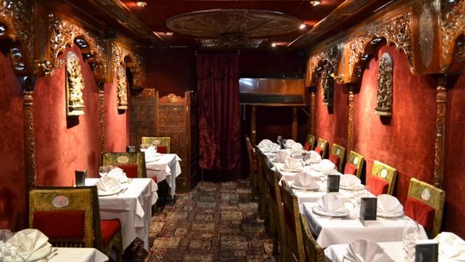 Vue de l'intérieur - Chez Gaandhi, Paris