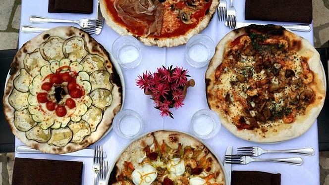 Le pizze - Garden Risto, Rome
