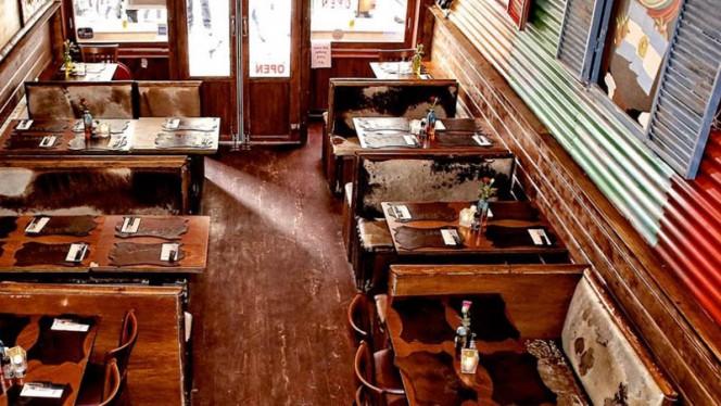 Restaurantzaal - La Boca, Amsterdam