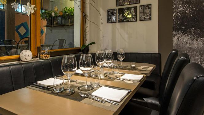Table dressée - Ulivo, Lausanne
