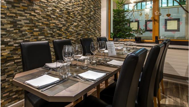 Tables dressées - Ulivo, Lausanne
