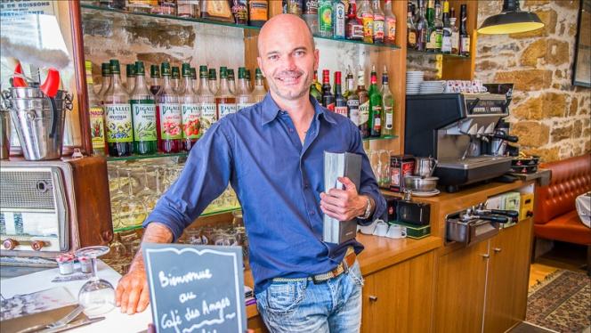 Côté Bar au Café des Anges - Café des Anges, Lyon