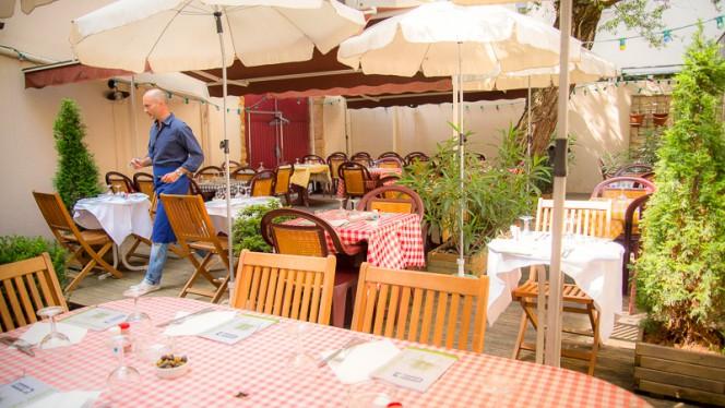 Côté terrasse - Café des Anges, Lyon