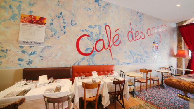 Vue de l'intérieur - Café des Anges, Lyon