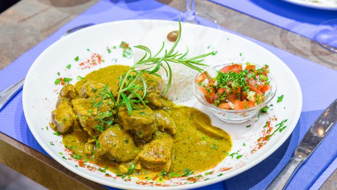 CURRY D'AGNEAU - Le VLT, Nice