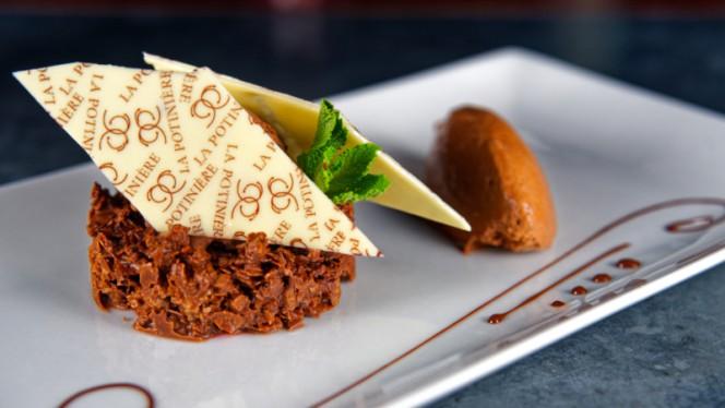 Assiette tout chocolat - La Potinière, Genève