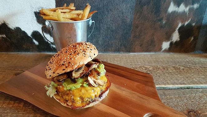 Burger - The Happy Bull, Amsterdam