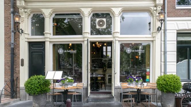 Ingang - De Belhamel, Amsterdam