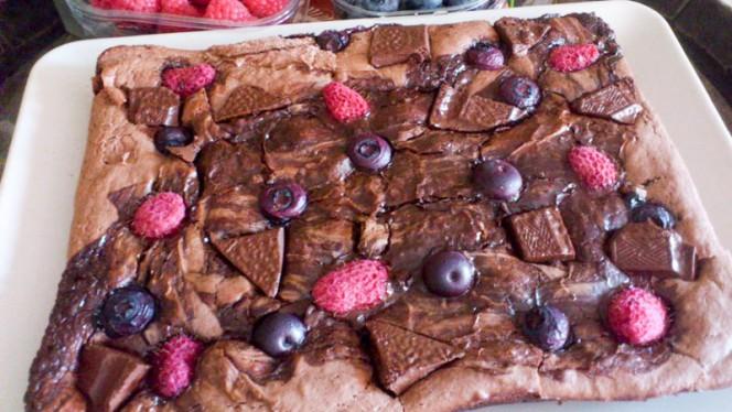 Brownie c/ Frutos - La Maison Rouge 48, Porto