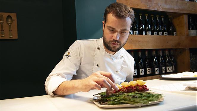 Chef Antonio Romero - Suculent, Barcelona